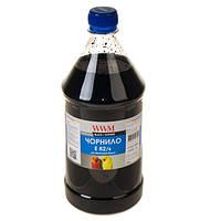 Черные чернила wwm e82/b-4 для заправки epson stylus photo t50/p50/px660 1000 гр black Водорастворимые