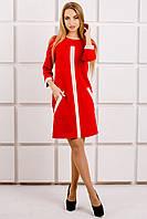 Платье Белинда - красный: 44,46,48,50,52