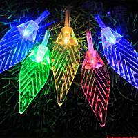 Гирлянда Бахрома,60 led «Листок», Мульти, 2,8 x 0,6, фото 1