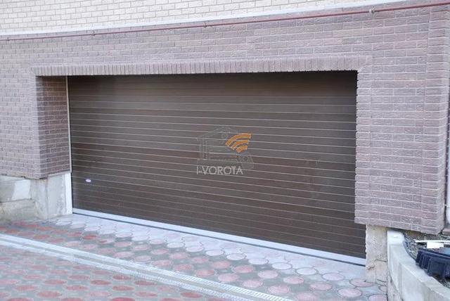 подъемно секционные гаражные ворота