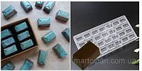 Конвертик   поликарбонатная форма для шоколадных конфет, фото 1