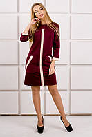 Платье Белинда - бордовый: 44,46,48,50,52