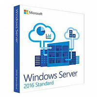 Программная продукция Microsoft Windows Server Standart 2016 x64 English 16 Core DVD (P73-07113)