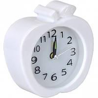 """Настольные часы - будильник """"Яблоко"""" 11*11*4 см"""