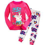 """Пижама для девочек """" Свинка Пеппа """"  100"""