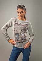 Стильный свитер для беременных