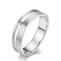 """Cеребрянное кольцо """"Бриллиантовый росток"""""""