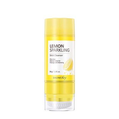 Secret Key Lemon Sparkling Stick Cleanser Стик для очищения лица с экстрактом лимона