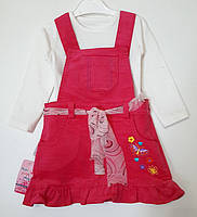 Сарафан вельветовый для девочки (2-4 года)