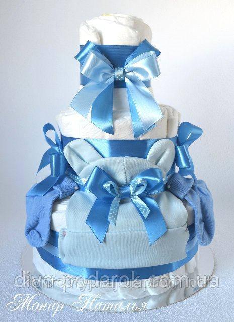 Торт из памперсов подарок