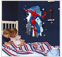 """Виниловые наклейки на стену """"Spider Man"""" (большая)"""