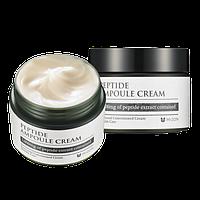 Пептидный антивозрасной крем для лица Mizon Peptide Ampoule Cream, оригинал