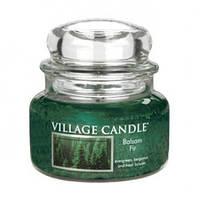 """Ароматическая свеча """"Бальзамическая пихта"""" в стекле Village Candle. 315 гр/ 55 часов"""