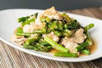 Свежий куриный салат