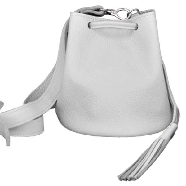 df75a57d6866 Кожаная сумка в белом цвете jizuz cross white Jizuz: продажа, цена в ...