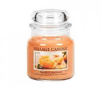"""Ароматическая свеча """"Мандарины"""" в стекле Village Candle. 455 гр/ 105 часов"""