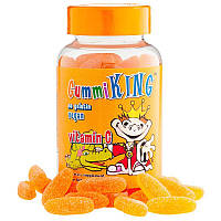 Gummi King, Витамин  C для детей с натуральным апельсиновым вкусом , 60 жевательных кусочков,