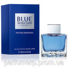 Antonio Banderas Blue Seduction Men 100ml, Мужские, Туалетная Вода, Интернет-Магазин Parisparfum.com.ua  - Ори