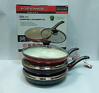 Сковорода Vissner VS 7439-28 из литого алюминия