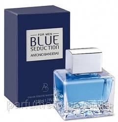 Antonio Banderas Blue Seduction Men 50ml, Мужские, Туалетная Вода, Интернет-Магазин Parisparfum.com.ua  - Ориг