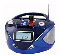 Бумбокс колонка часы MP3 Golon RX 669Q, радио, портативная акустика