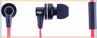 Вакуумные наушники с микрофоном Ergo ES-900i