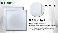 Безбликовая (UGR<19) LED панель Bioledex 40Вт 4000Лм 62х62 с нейтральным светом