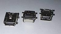 Гнездо USB-mini (5 конт SMD) монтажн