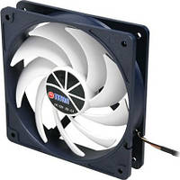 Вентилятор Titan TFD-12025 SL 12 Z/KU, 120х120х25мм, 3-pin, черно-белый