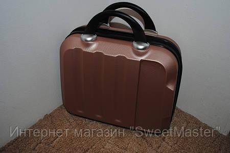 Сумка-чемодан мастера Медно-золотой