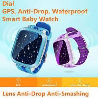 DS18 смартфон часы Дети Детские GPS Wi-Fi трекер sos-вызов SMS Поддержка сим-карты