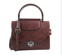 Модная сумка сундук с круглой ручкой, фото 2