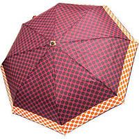 Зонт женский полный автомат Derby 7440265PA-3 Бордовый