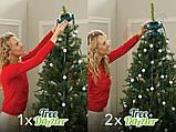 Новорічна конусна світлодіодна гірлянда Tree Dazzler на ялинку, фото 2