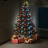 Новорічна конусна світлодіодна гірлянда Tree Dazzler на ялинку, фото 3