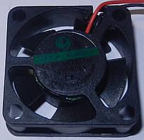 Вентилятор  40-40-10 (  12v- 0.1A)  пластик