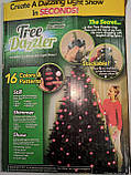 Новорічна конусна світлодіодна гірлянда Tree Dazzler на ялинку, фото 6