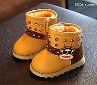 Зимние ботинки для мальчика. р. 21, 22, фото 1