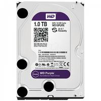 Жесткий диск WD Purple 1TB SATAIII/64MB/5400-7200rpm (WD10PURX)