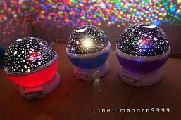 """Детский вращающийся ночник - проектор стармастер """"Звездное небо"""", Star Master Dream rotating projection lamp"""