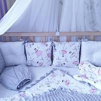 Комплект детского постельного в кроватку