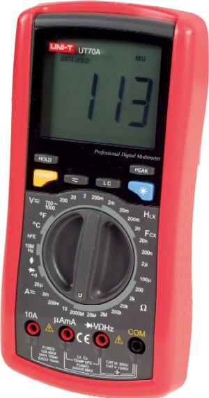 Мультиметр UNI-T UTM 170А (UT70А)