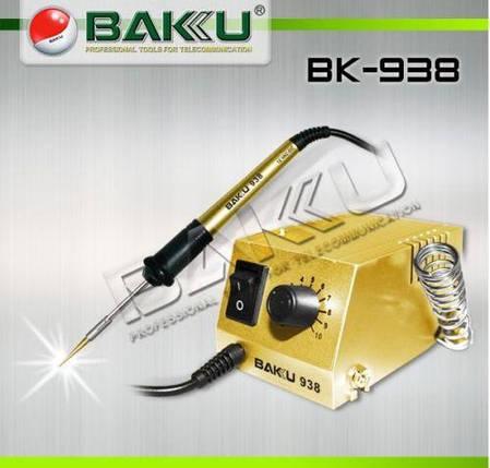 Паяльная станция BK-938 мини  BAKU, фото 2