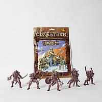 Вікінги Битви Fantasy набір воїнів (з гнучкого пластику), арт. 00772, Технолог