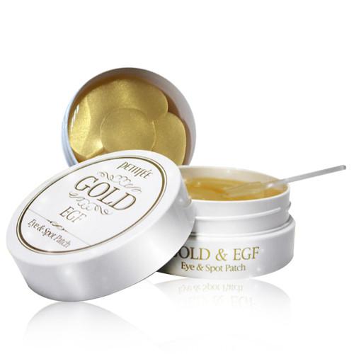 Petitfee Gold & EGF Eye & Spot Patch Гидро-гелевые патчи