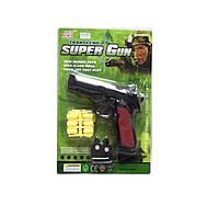 Полицейский набор 3020B (192шт/2) мишень, пистолет, снаряды, на планшетке