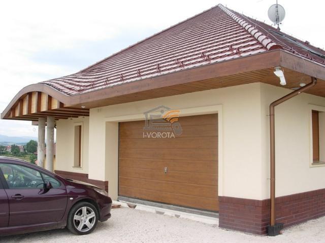 гаражные ворота стандарт
