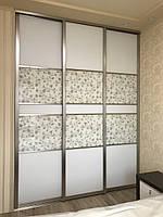 Шафа купе на замовлення в ніші, гардеробна кімната Starke Premium brash, фото 1