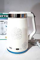 Дисковый электрический чайник-термопот Otto PT 106, фото 1