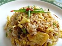 Холодный рис с овощами